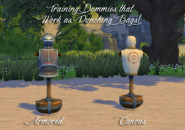 Sims 4 Practice Sword Fighting Mod at Historical Sims Life