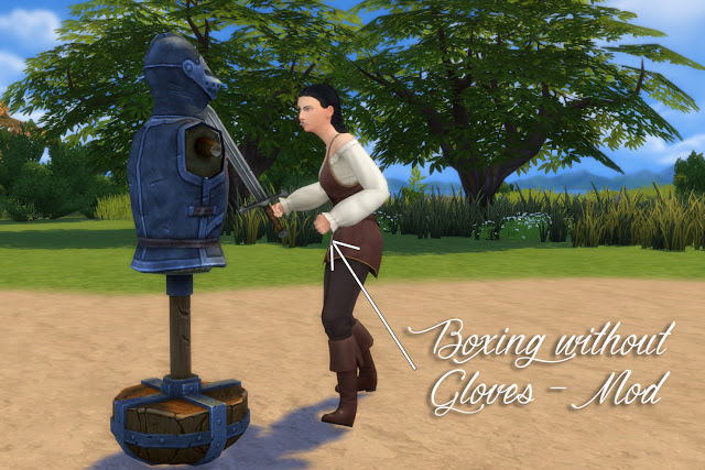 Practice Sword Fighting Mod at Historical Sims Life image 23111 Sims 4 Updates