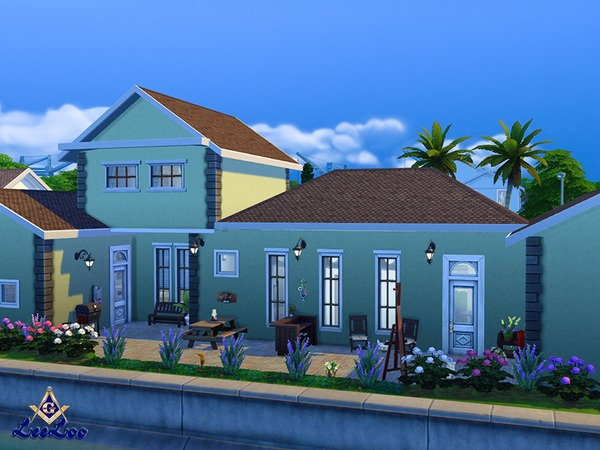 Magnolia house by LeeLooRussia at TSR image 2315 Sims 4 Updates