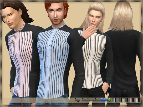 Shirt Collar Stand 2 by bukovka at TSR image 2320 Sims 4 Updates