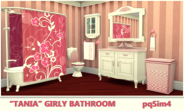 Tania Bathroom by Mary Jiménez at pqSims4 image 2323 Sims 4 Updates