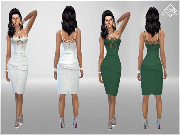 Sober Dress Pencil by Devirose at TSR image 2324 Sims 4 Updates