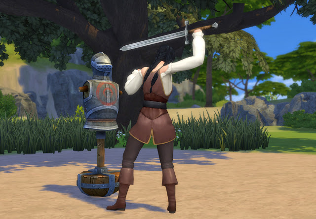 Practice Sword Fighting Mod at Historical Sims Life image 2326 Sims 4 Updates
