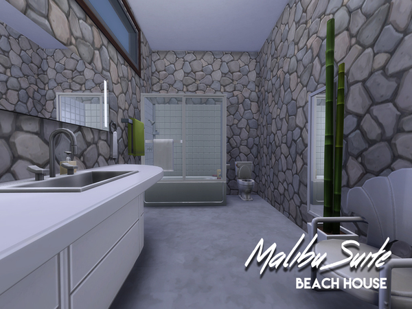 Sims 4 Malibu Suite Beach House by Simstailored at TSR