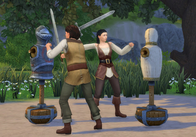 Practice Sword Fighting Mod at Historical Sims Life image 2334 Sims 4 Updates