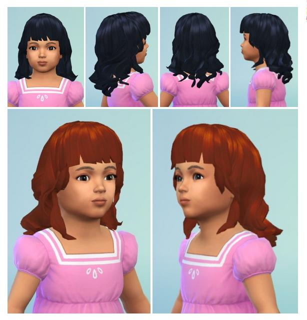 Sims 4 Midget Curls Toddler at Birksches Sims Blog