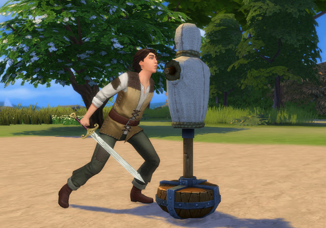 Practice Sword Fighting Mod at Historical Sims Life image 2343 Sims 4 Updates