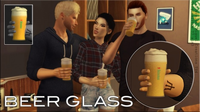 Sims 4 Glass ACC at Victor Miguel