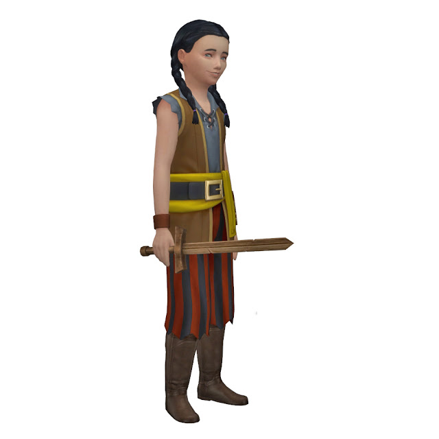 Sims 4 TSM to TS4 Medieval Swords at Historical Sims Life