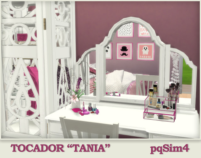 Tania vanity by Mary Jiménez at pqSims4 image 2431 Sims 4 Updates
