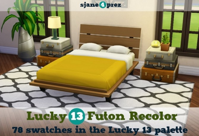 Lucky 13 Futon recolors at 4 Prez Sims4 image 248 670x458 Sims 4 Updates