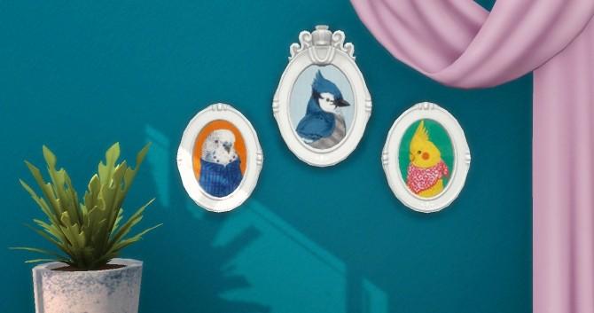 Sims 4 Whimsical Animal Portraits at Hamburger Cakes