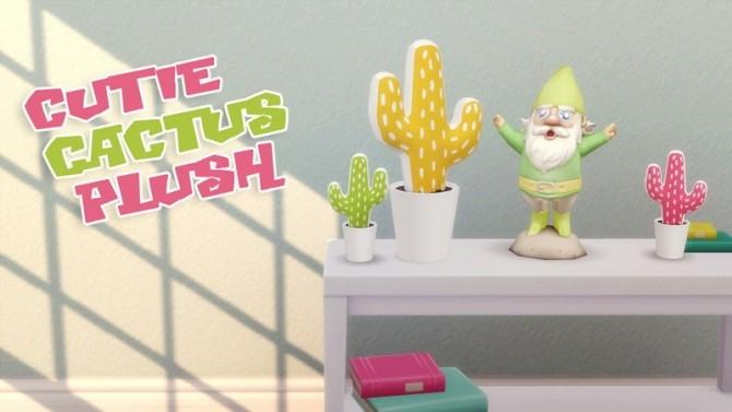 Cutie Cactus Plush at Hamburger Cakes image 2511 670x377 Sims 4 Updates