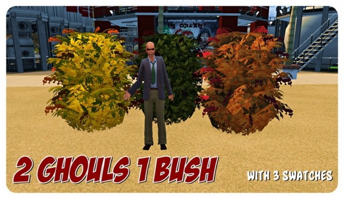 Sims 4 Crazy John Paul's Post Apocalyptic Fire Sale at SimDoughnut