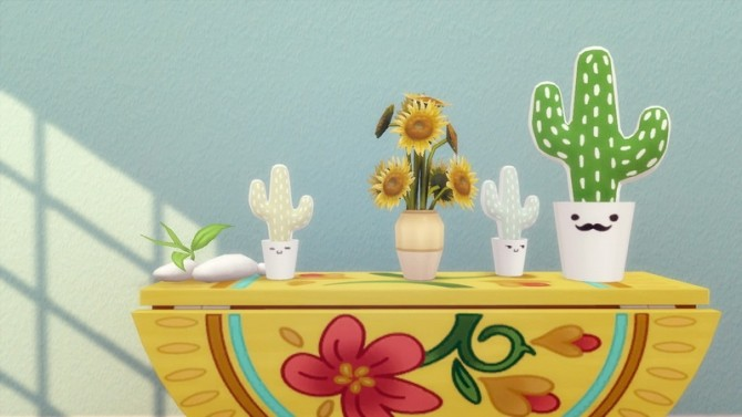 Cutie Cactus Plush at Hamburger Cakes image 2531 670x377 Sims 4 Updates