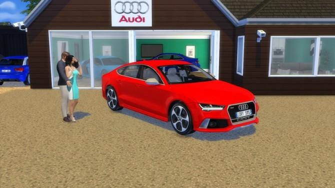 Audi RS7 at LorySims image 257 670x377 Sims 4 Updates