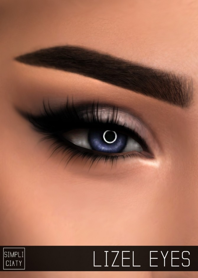Sims 4 LIZEL EYES at Simpliciaty