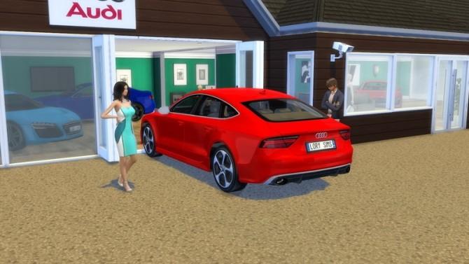 Audi RS7 at LorySims image 258 670x377 Sims 4 Updates