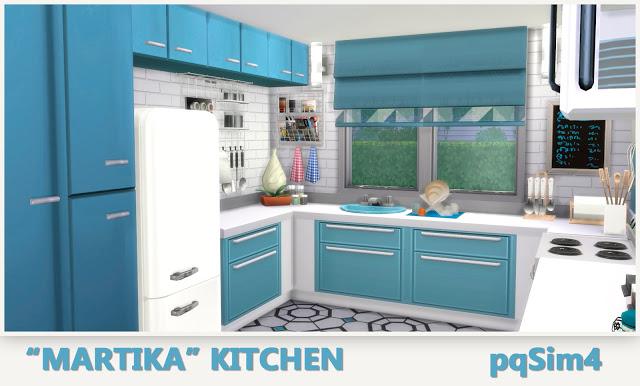 Sims 4 Martika Kitchen at pqSims4