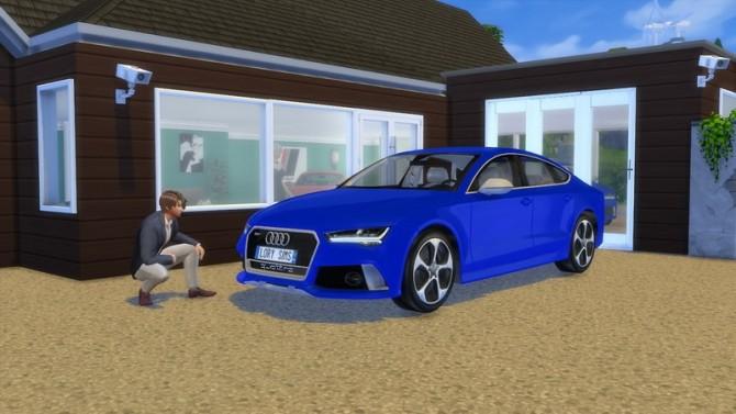 Audi RS7 at LorySims image 259 670x377 Sims 4 Updates