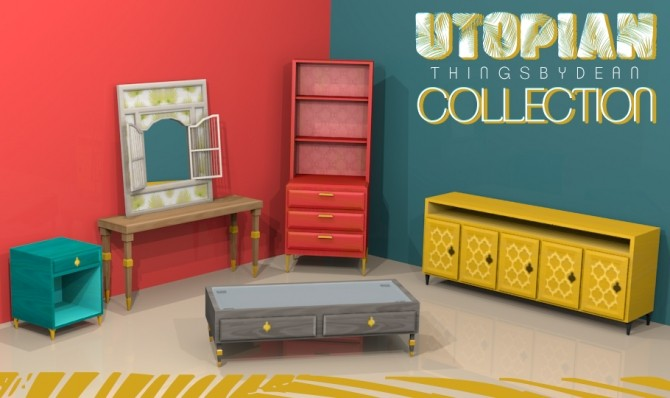 Utopian Furniture Collection at THINGSBYDEAN image 2591 670x398 Sims 4 Updates