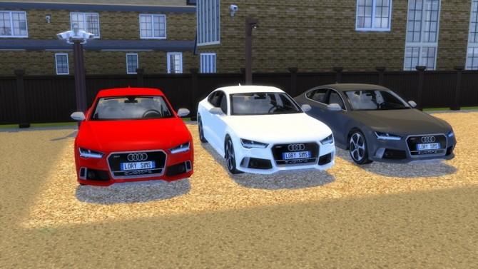 Audi RS7 at LorySims image 260 670x377 Sims 4 Updates