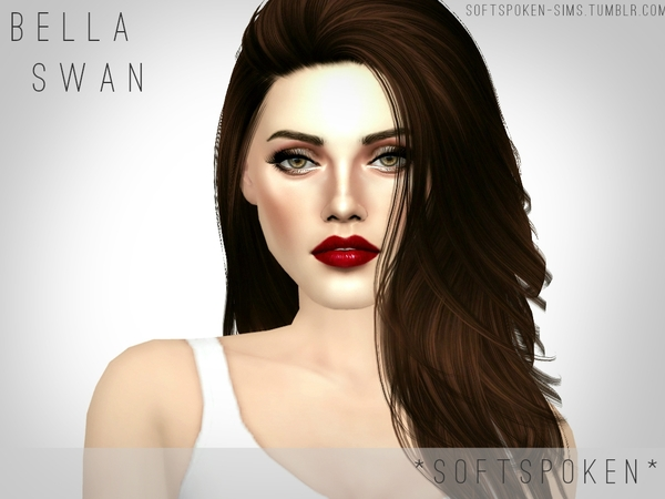 Bella Swan/Kristen Stewart by Softspoken at TSR image 261 Sims 4 Updates