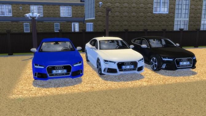 Audi RS7 at LorySims image 2611 670x377 Sims 4 Updates