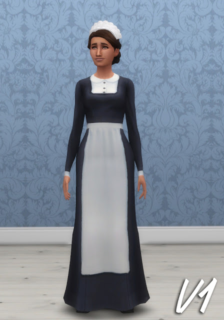 3 Maids Uniforms At Historical Sims Life 187 Sims 4 Updates