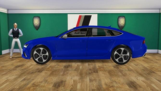 Audi RS7 at LorySims image 2621 670x377 Sims 4 Updates