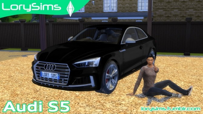 Audi S5 at LorySims image 2631 670x377 Sims 4 Updates