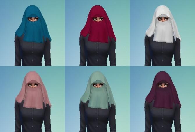 Sims 4 Niqab at My Stuff