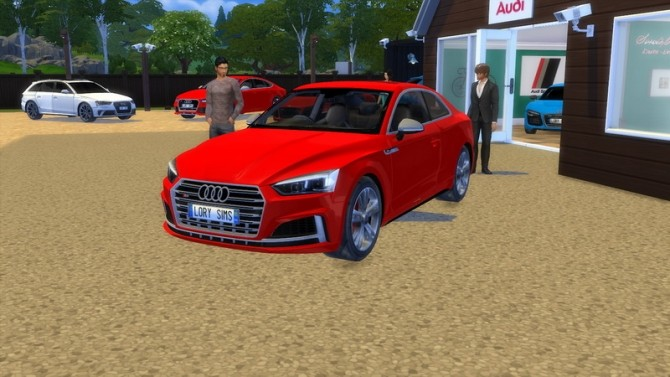 Audi S5 at LorySims image 264 670x377 Sims 4 Updates