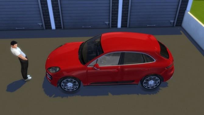 Sims 4 Porsche Macan Turbo at LorySims