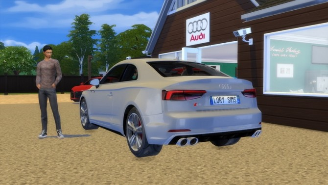 Audi S5 at LorySims image 267 670x377 Sims 4 Updates