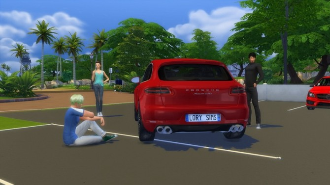 porsche macan turbo at lorysims sims 4 updates. Black Bedroom Furniture Sets. Home Design Ideas
