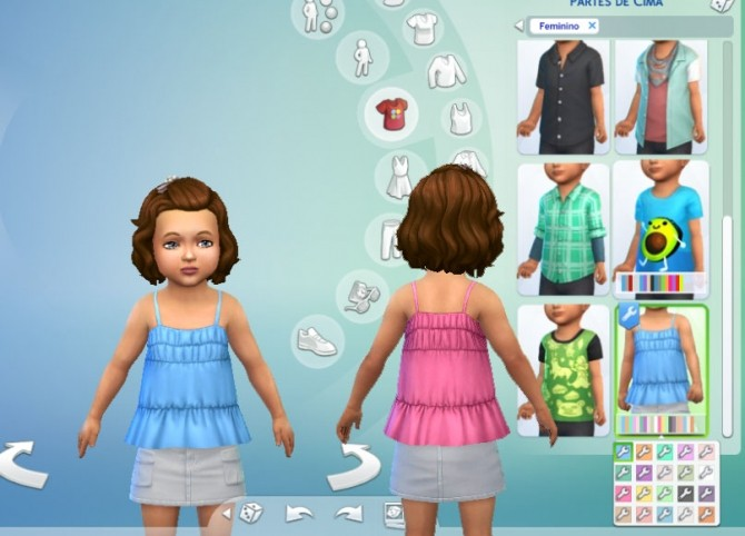 Sims 4 Sun Top at My Stuff