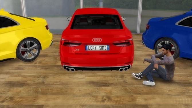 Sims 4 Audi S5 at LorySims