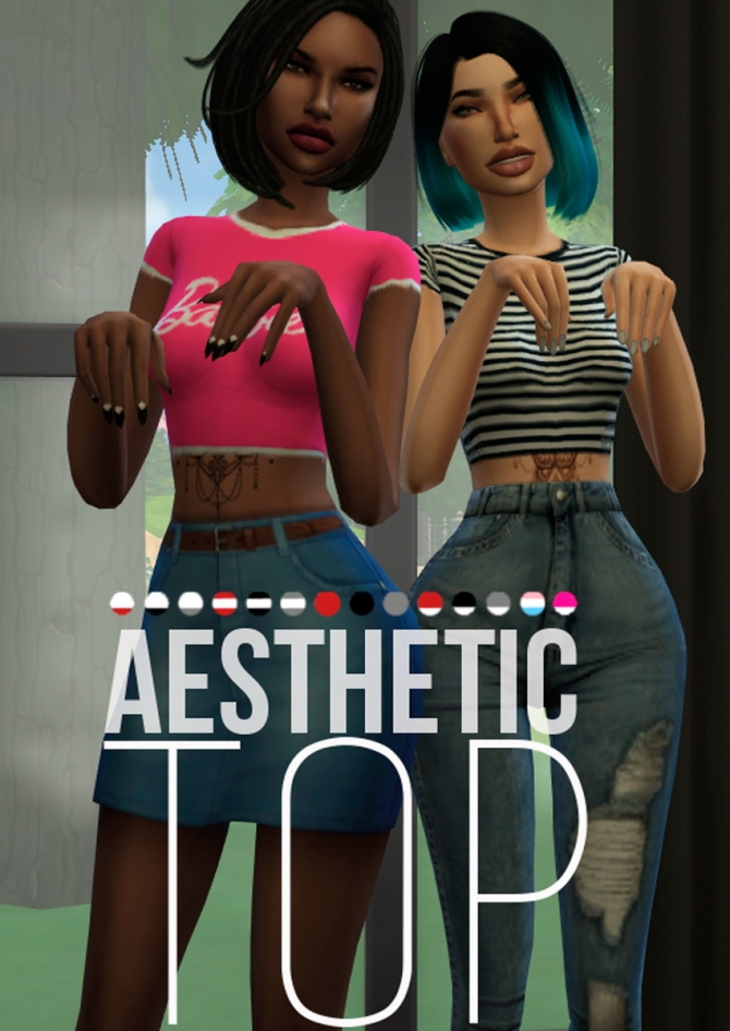 BodyCon Full Outfit by MzEnvy20 at Mod The Sims » Sims 4