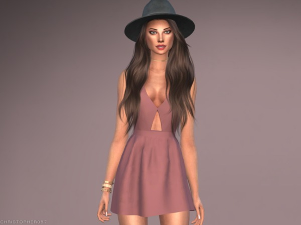 Octavia Dress by Christopher067 at TSR image 2713 Sims 4 Updates