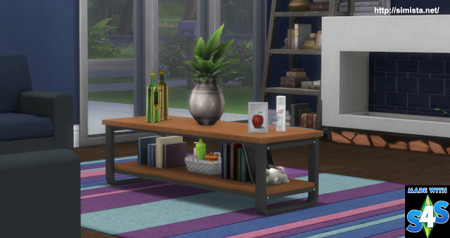 Russo Coffee Table at Simista image 2722 Sims 4 Updates
