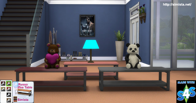 Russo Coffee Table at Simista image 2741 Sims 4 Updates