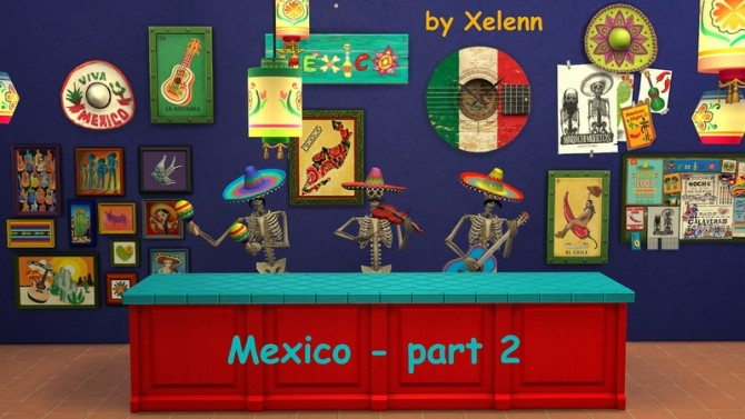 Mexico part 2   33 objects at Xelenn image 2742 670x377 Sims 4 Updates