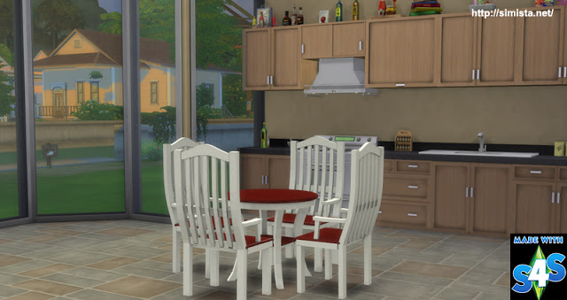 Brenna Dinging table and chairs at Simista image 2761 Sims 4 Updates