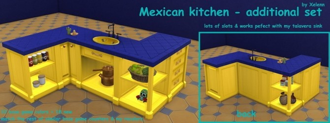 Mexico part 2   33 objects at Xelenn image 2762 670x250 Sims 4 Updates