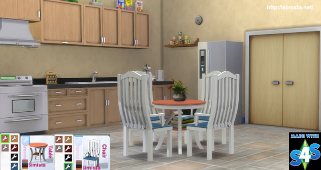Brenna Dinging table and chairs at Simista image 2771 Sims 4 Updates