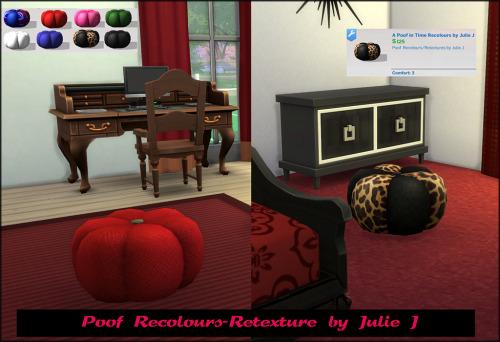 Movies Hangout Poof Recolours Retextures at Julietoon – Julie J image 2781 Sims 4 Updates