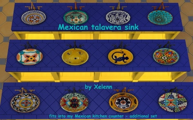 Mexico part 2   33 objects at Xelenn image 2792 670x417 Sims 4 Updates