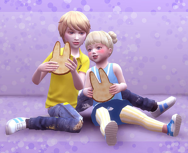 Brothers & Sisters pose 03 at A luckyday image 2801 Sims 4 Updates