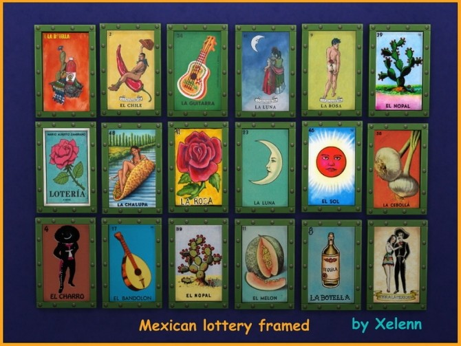 Mexico part 2   33 objects at Xelenn image 2802 670x503 Sims 4 Updates
